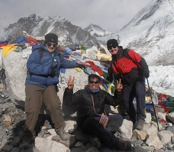 Everest base camp 5364 m
