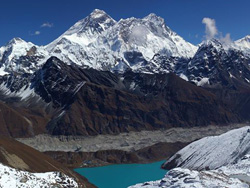 Everest View & Gokyo Lake from Gokyo Ri