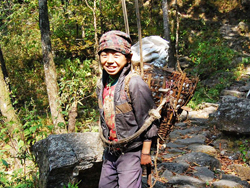 Local Young Boy in Makalu Area
